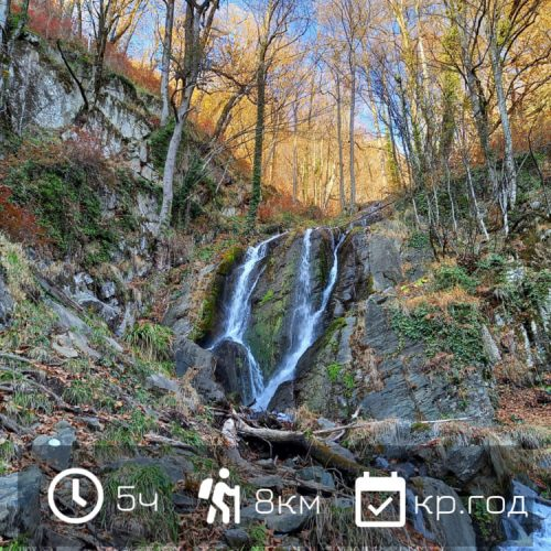 Поход на водопад Кейву с гидом в Красная Поляна