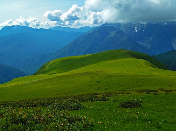 Фото Табунной горы летом