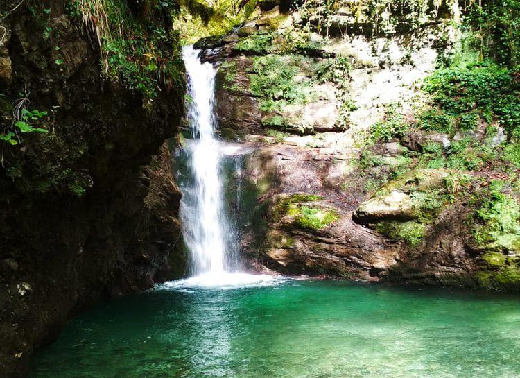 Фото ивановского водопада осенью
