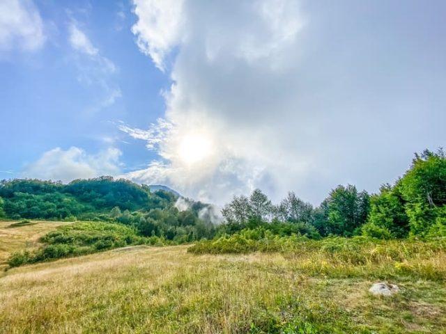 Облака на Ачишхо