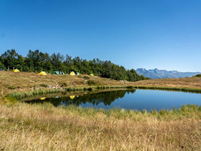 Озеро Зеркальное летом