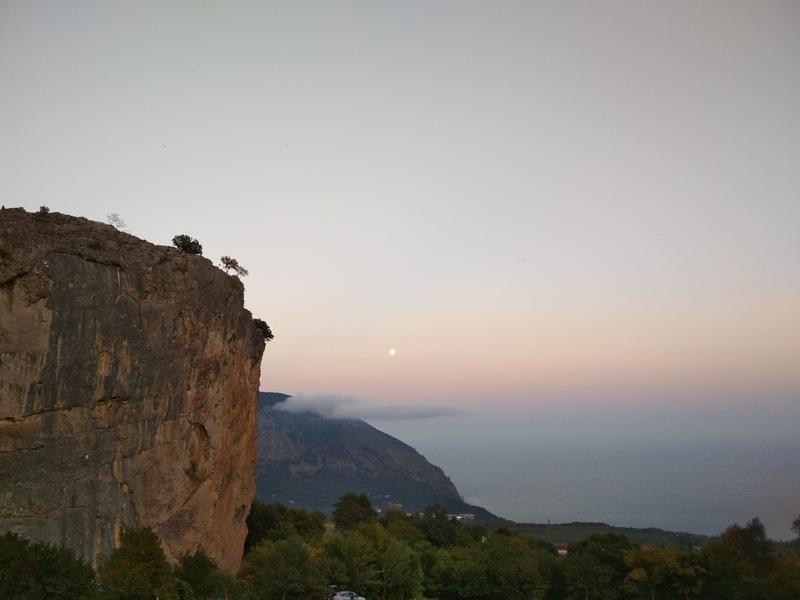Велопутешествие в Крыму Красный Камень