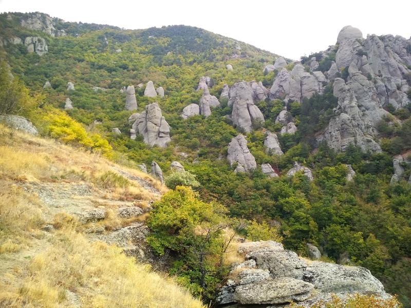 Велотур Долина Привидений Демерджи